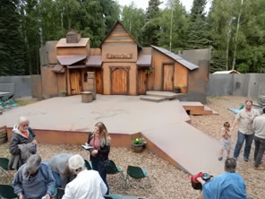 Photo of Merry Wives stage