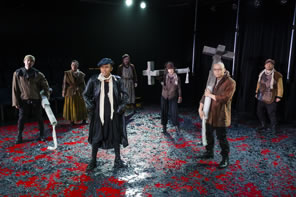Production photo of Cade's Rebellion