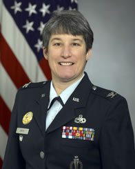 Official photo of Colonel Sarah J. Smith