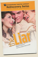 Cover of The Liar play